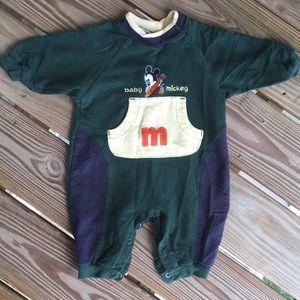 Boy's 6-9 Mos Baby Mickey One Piece